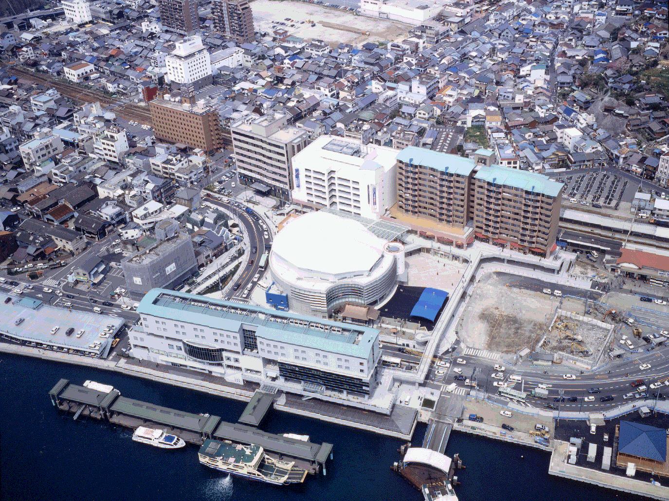 尾道市駅前再開発 | 施工実績 | りんかい日産建設株式会社
